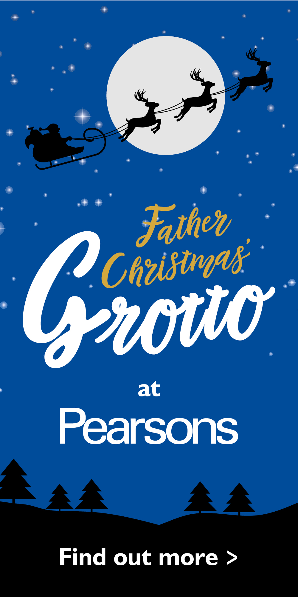 Father Christmas' Grotto at Pearsons