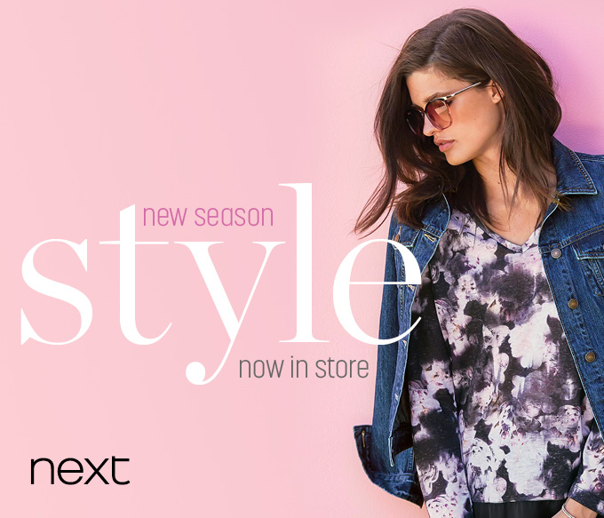 New Season Style Now In