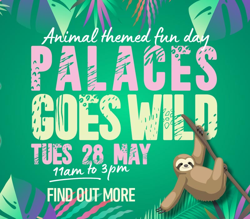 Palaces Goes Wild event