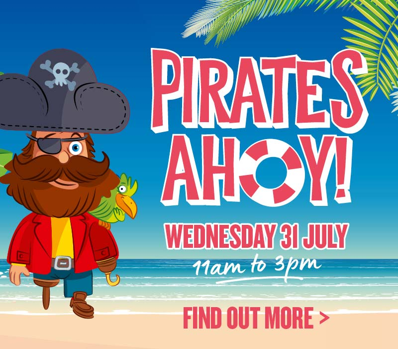 Pirates Ahoy Wed 31 July